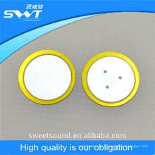 Guangdong fábrica 2.0khz elemento piezoeléctrico de cerámica 31 mm piezo