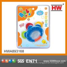 Juguetes plásticos del traqueteo del bebé del diseño nuevo de la venta caliente