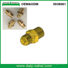 USA Type Brass Forged Flare Nipple/Male Connector (320208)