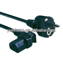 Power cord with outlet C13