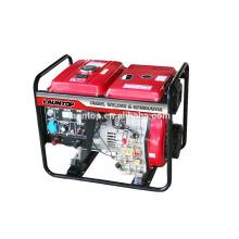 200A gerador portátil de solda diesel com motor 188 (474cc)