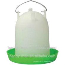 122 4L de qualité en plastique Poutry Drinkers