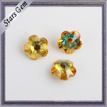 Горячая продажа цена по прейскуранту завода Мульти Цвет Цветочный драгоценный камень для ювелирных изделий
