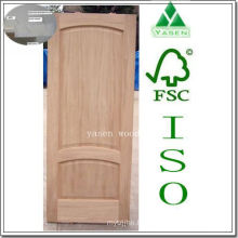 Engineering Arch Top Raised Panel Wood Door
