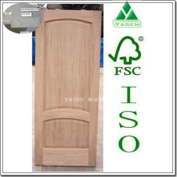 Engineering Arch Top Raised Panel Puerta de madera