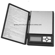 Электронный цифровой карманный шкала ювелирных шкал 200 г / 0.01 г