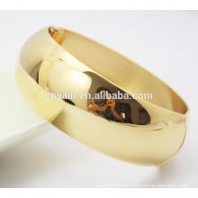 Real chapado 18k brazaletes brazalete de oro diseños