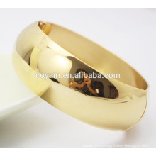 Real plating 18k gold bangle bracelets designs
