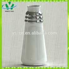 Высокое качество серебряной керамической вазы украшение из Китая