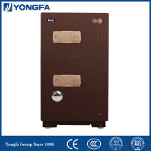 Double door brown safe