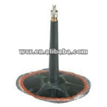 Custom metal bonded rubber valve
