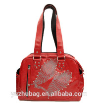 China suppliers PU leather Ladies fashion handbag