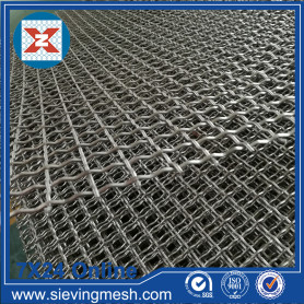 Panel Mesh Wayar Crimped