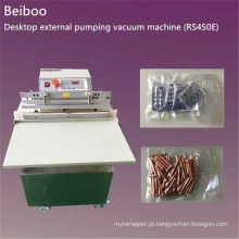 Máquina de embalagem de vácuo de bombeamento externo de mesa (RS450E)