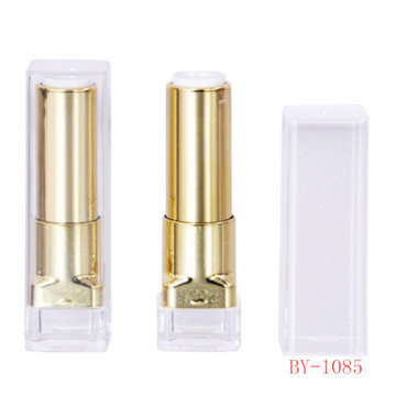 Ornate Rectangle Gold Lipstick Tube