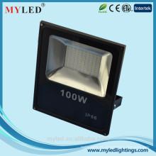 Liga de alumínio LED alta luz da baía 100W impermeável IP65 LED FloodLight