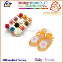 Zapatos de bebé de patrón de punto libre