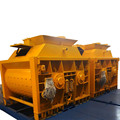 Centralized front end loader concrete mixer for tractor