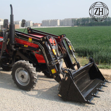 25hp 4wd Mini Tractors dengan Loader Front End