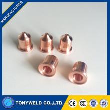 Piezas de plasma boquilla 220819 65A / 85A / 105A para cortador de soldadura