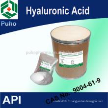 Poudre d'acide hyaluronique injectable pour injection d'acide hyaluronique à prix compétitif USP28 // 9004-61-9