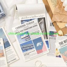 50PCS Per Set Scrapbooking DIY Decorating Memo Paper Pad for Basic Decorating