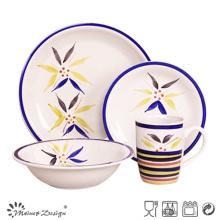 16PCS estilo árabe cena de cerámica precio barato