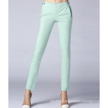 New Style Solid Color Casual Slim Women Pants