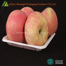 Bandeja de embalagem de frutas de maçã fresca