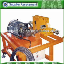 Hydraulic steel pusher for prestressing strand