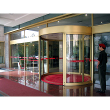 Automatic Curved Sliding Doors with Multiple Functions