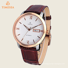 Men′s Rose Gold-Tone Water Resitant Mechanical Watches 72479