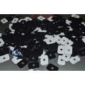 10 Anos Fábrica Reutilizável Lavável Stciky Gel Pad Raw Anti Slip Gel Pad Material Die-cutting Sticky Gel Pad