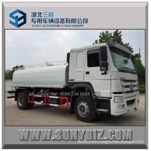 Rhd LHD Sinotruk HOWO 266HP 290HP 15000L Water Truck