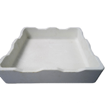 refractory alumina ceramic sagger for sintering magnetic material