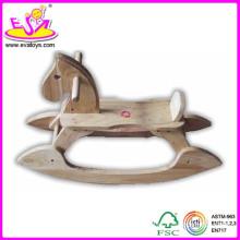2014 beaux cavaliers de ressort de jouet à bascule pour les enfants, cavaliers de printemps de Ride-sur pour des enfants, cheval à bascule en bois pour le bébé Wj276155