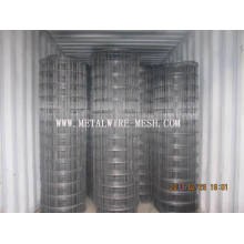 Black Ribbed Welded Wire Mesh