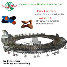 Newest PU Foam Sole Pouring Equipment Safety Shoe Making Machine