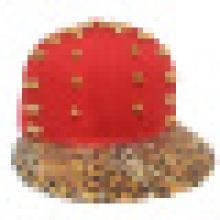 Gorras de béisbol Snapback con cuero artificial SD01