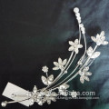 beautiful crystal flower bridal comb hair jewelry comb metal hair comb hair accessories wholesale china