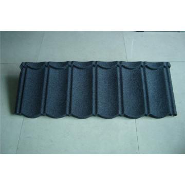 Azulejo de acero revestido de piedra elegante Mtetal Material de cubierta