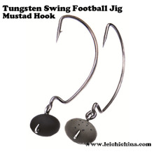 Hot Sale Tungsten Swing Football Jig Head