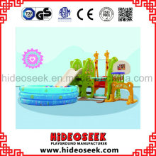 Toddler Indoor Baby Slide y Swing con Ball Pit
