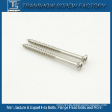 Raised Countersunk Head Self Tapping Screws