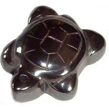 Hematite Tortoise Pendant