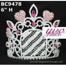pageant rhinestone crowns