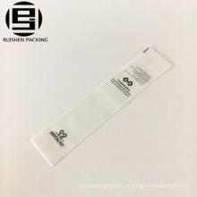 EVA material impreso viaje cepillo de dientes bolsa de embalaje