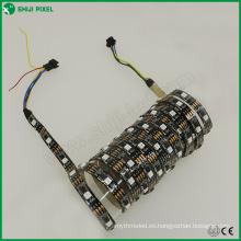 30leds / M individualmente dmx512 control DMX RGB dirigible luz de tira llevada
