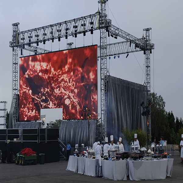 Full color Outdoor Rental LED Display