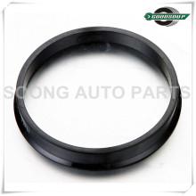 Heißer Verkauf Universal Aluminium / Kunststoff Radnabe zentrische Ringe